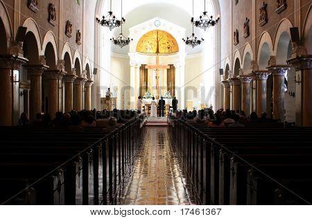 Wedding Ceremony Catholic Church