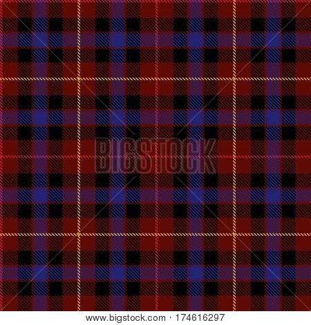 Tartan Seamless Pattern Background. Red Black Blue and Yellow Plaid Tartan Flannel Shirt Patterns. Trendy Tiles Vector Illustration for Wallpapers.