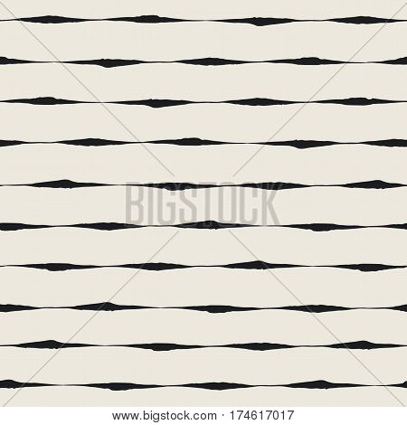 Seamless ink brush strokes pattern. Hand painted geometric background. Graphic design element for web sites stationary printables fabric scrapbooking etc. Vector illustration.