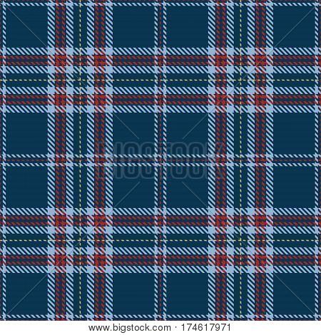 Tartan Seamless Pattern Background. Red Blue and Gold Plaid Tartan Flannel Shirt Patterns. Trendy Tiles Vector Illustration for Wallpapers.