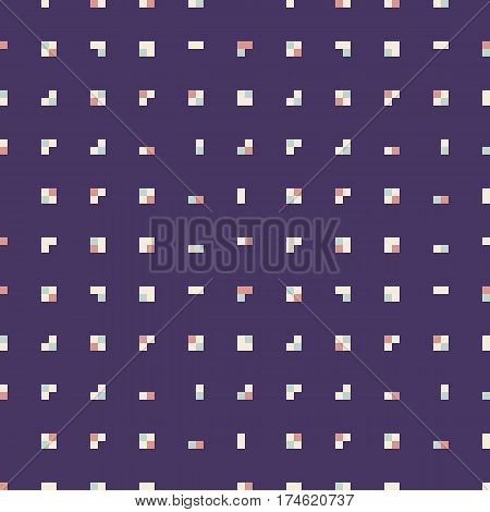 Colorful seamless pattern-abstract squares