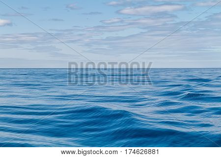 Abstract Ripples in waters of the Artic Circle Iceland