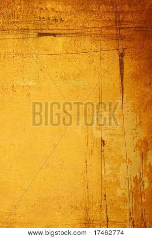 Grunge Orange  Background Backdrop (Insert Your Subject)