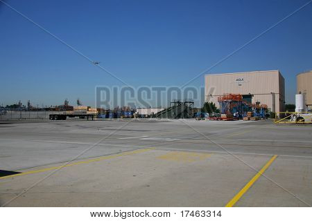 Shipping Receiving Area of Aerospace Plant