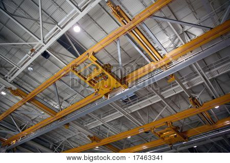 Airplane Production Factory Overhead Crane