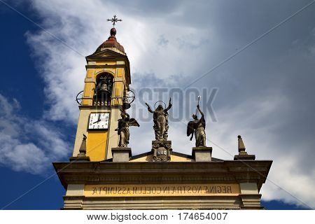 In Cairate Varese Italy   The   Watch Bell Clock