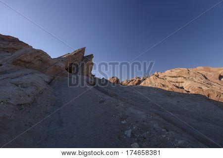 Vasquez Rocks Sunset - Sunset on Vasquez Rocks.