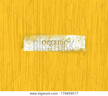 Organic Nature Friendly Eco Bamboo Background. Bio Vector Texture