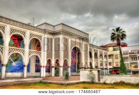 Mohamed VI Museum of Modern and Contemporary Art in Rabat, the capital of Morocco