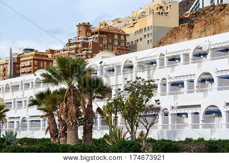 Aguadulce city. Aguadulce is a spanish locality of Roquetas de Mar province of Almeria. Spain