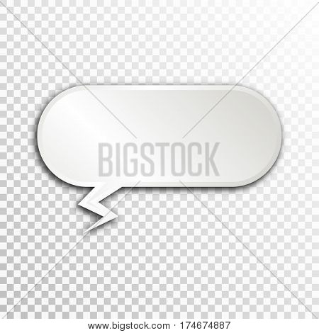 Empty white paper plate base for text. Simple form card on transparent background.