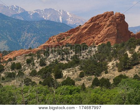Colorado Springs Colorado Garden of the Gods