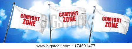 comfort zone, 3D rendering, triple flags