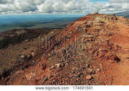 North Breakthrough Great Tolbachik Fissure Eruption 1975, Kamchatka