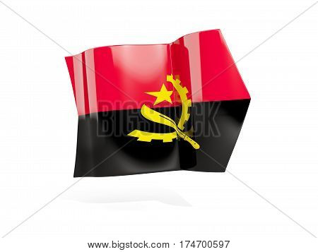 Arrow With Flag Of Angola
