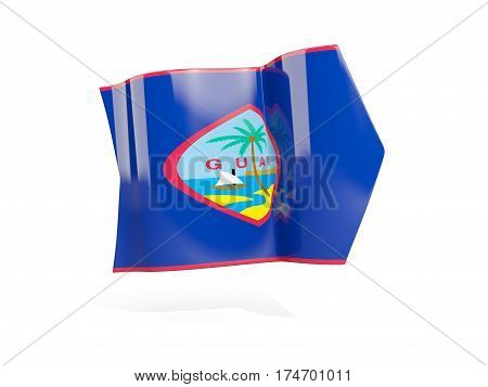Arrow With Flag Of Guam