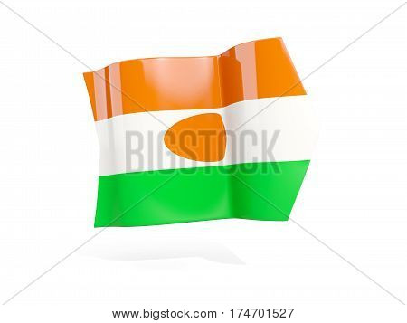 Arrow With Flag Of Niger