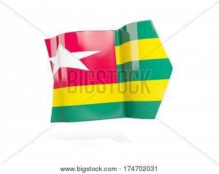 Arrow With Flag Of Togo