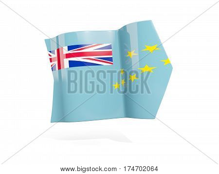 Arrow With Flag Of Tuvalu