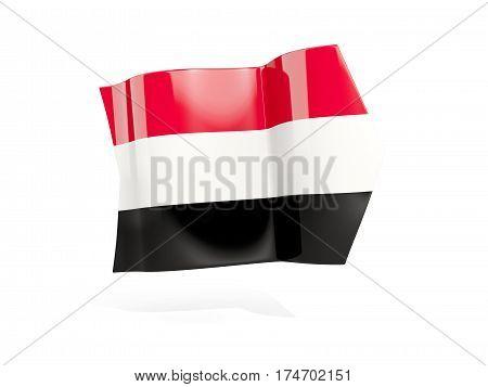 Arrow With Flag Of Yemen