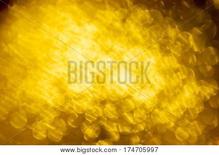 gold background abstract bokeh bright light yellow