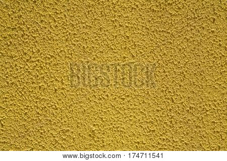 yellow of wall texture for abstract background