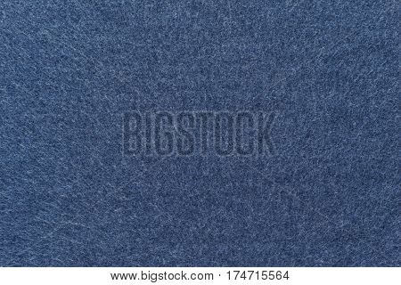 background and texture of dark blue color of fleece fabric in big resolution