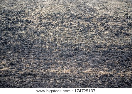 Brown realistic soil texture for ground texturing