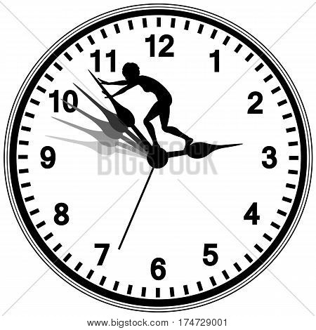 Missed Chances in Life. Desperate woman tries to turn the clock back