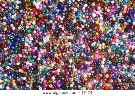 Multi-colored Seed Beads