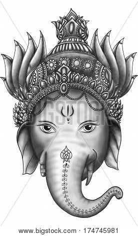Ganesha is god of success. Ganesha is one of the best-known and most worshipped deities in the Hindu pantheon
