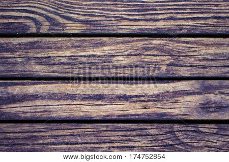 Bright wood planks closeup. Rough lumber surface. Warm brown wooden background for vintage card. Timber texture closeup. Wooden board wallpaper or backdrop photo. Natural material banner template