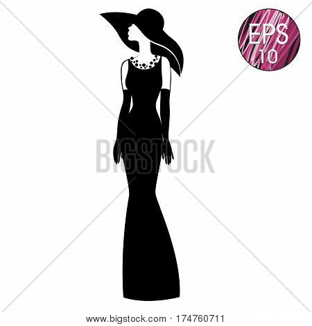 Black dress hat 7 1 4