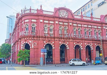 Landmarks Of Colombo
