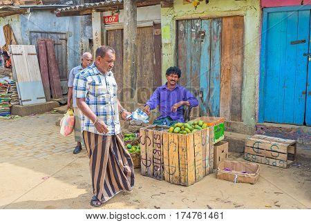 The Seller Of Papayas