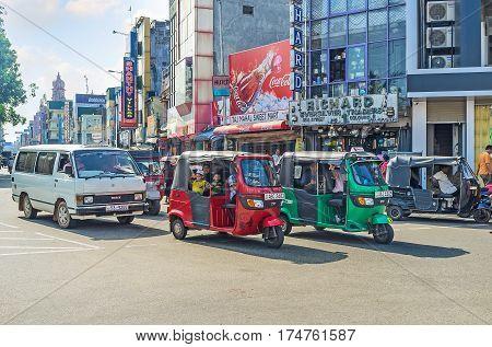 The Tuk Tuk Taxi