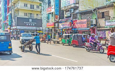 The Traffic Of Main Street