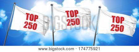 top 250, 3D rendering, triple flags