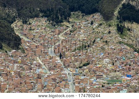Bolivian Capital La Paz