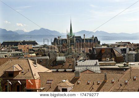 Lausanne In Switzerland