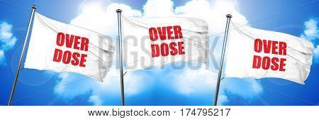 overdose, 3D rendering, triple flags