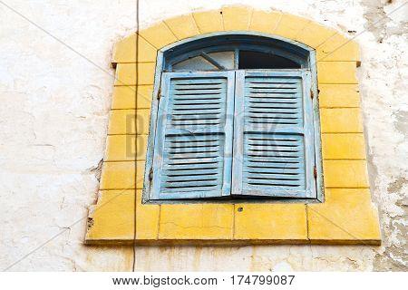Window In Morocco Yellow  Wal Brick Historical