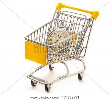 Stopwatch In Pushcart