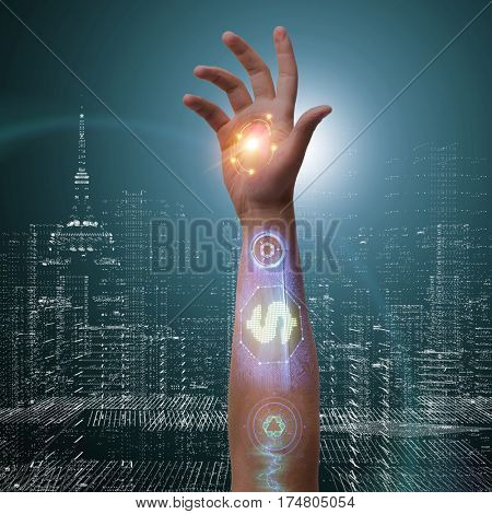 The future of  bionic payments