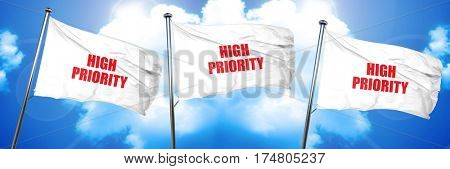 high priority, 3D rendering, triple flags
