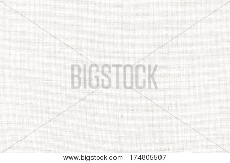 White linen canvas. The background image texture