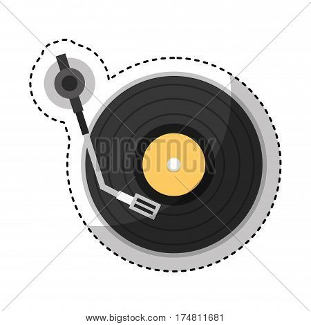 player lp isolated icon vector illustration design
