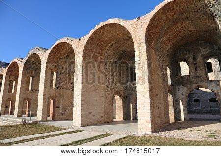 Ancient Fort Of World War I