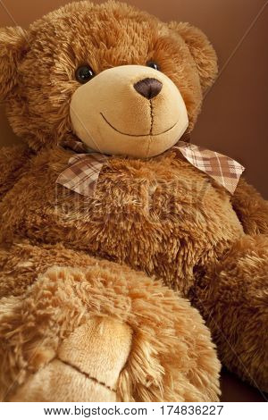 Smiles teddy bear cute toy, eddy-bear happy, soft,