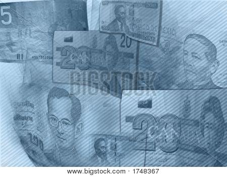 Blue Moneystripes